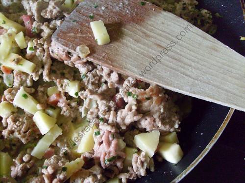 Mijoté de viande hachée aux panais / Minced meat and parsnip simmer