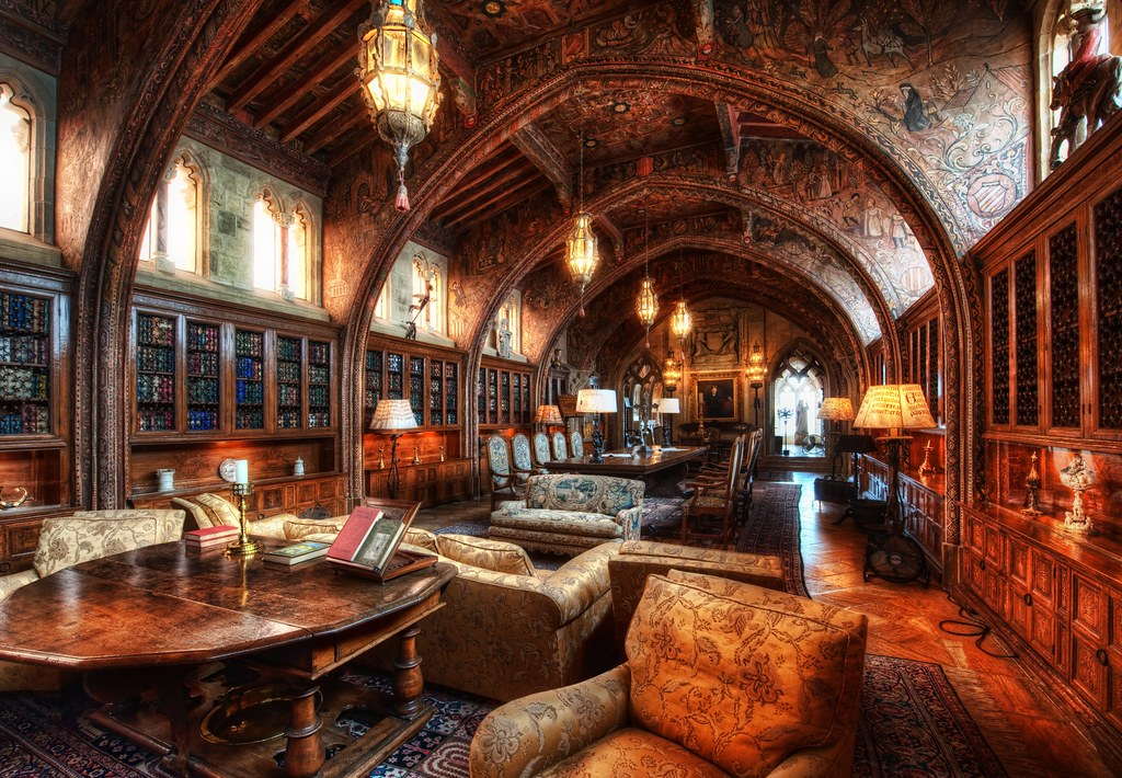 Gothic Library, New Albion Library