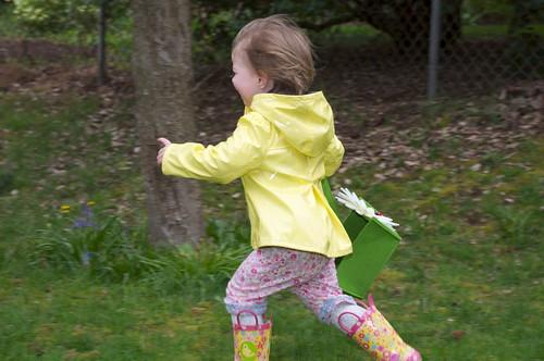 Running Toward Eggs