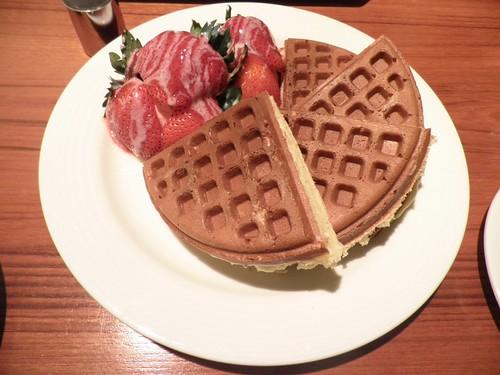 米朗琪_草莓冰淇琳鬆餅2
