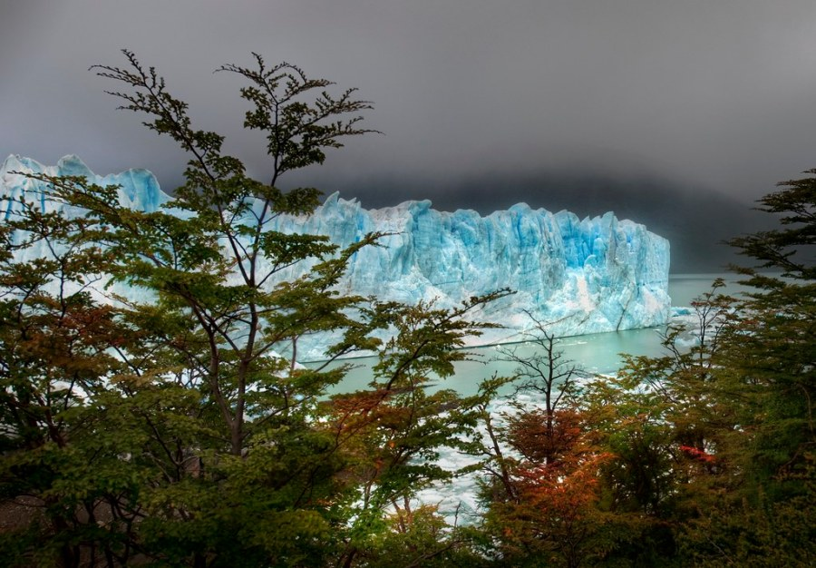 And then I hiked through the Autumn Trees to find the Glacier