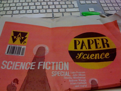battered paper science cover