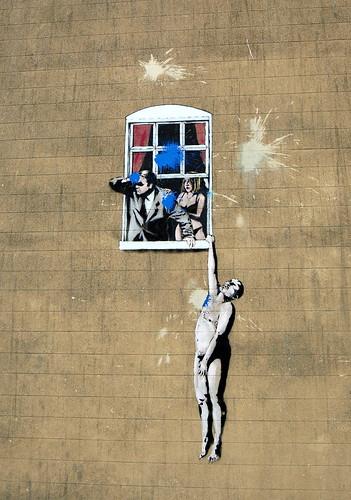 I sottotitoli in italiano di Exit Through the Gift Shop, il film di Banksy sulla street art  (1/2)