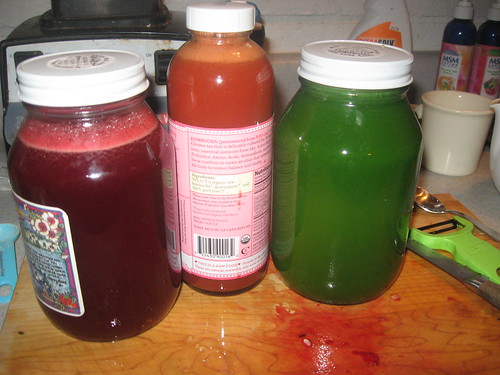 Freshly Made Juices for the Work Day