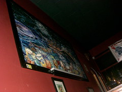 vertigo pub painting