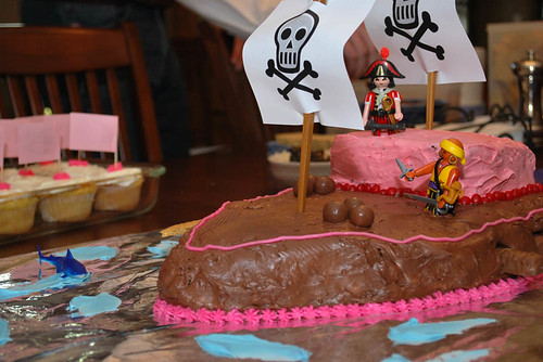 The Pirate Princess Party Cake