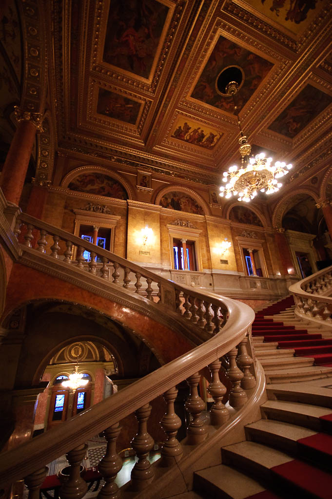 Main staircase, Hungarian State Opera House
