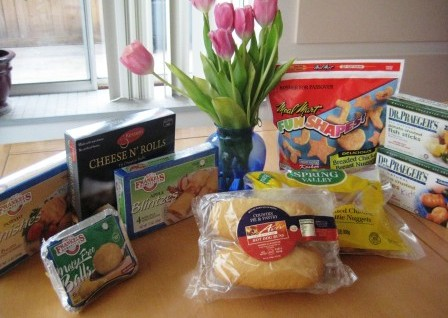 gluten-free passover frozen foods