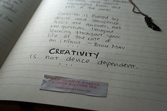 Creativity is Not Device Dependent