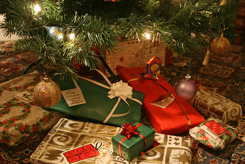 Christmas presents under the tree by Alan Cleaver, on Flickr