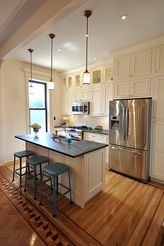 bk limestone kitchen after