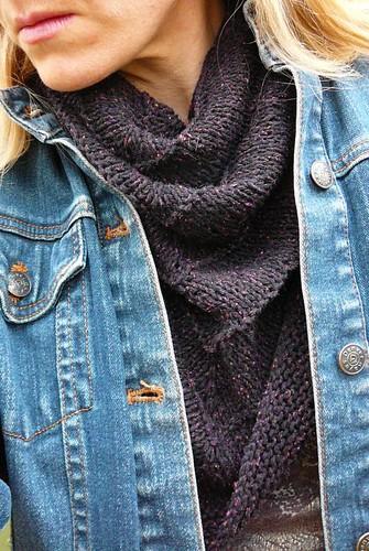Boneyard shawl