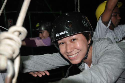 Monica @ the Zip-line
