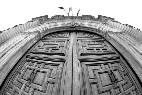 La puerta de la universidad