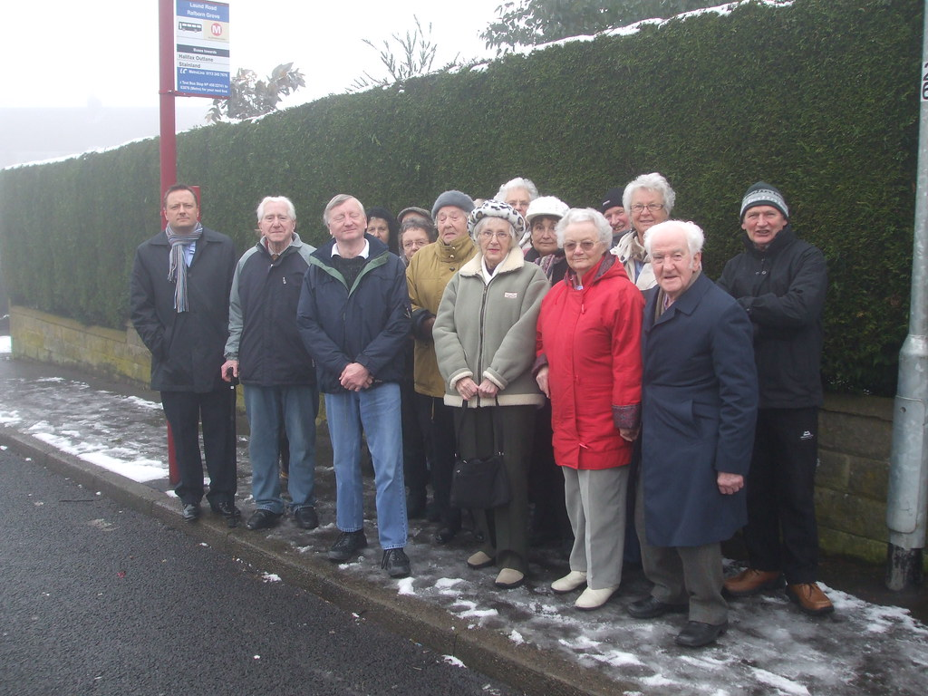 Out With Local Pensioners