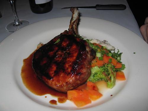 Drew's Bayshore Bistro: Grilled Pork Chop