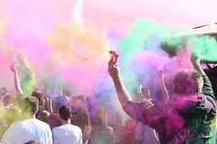 Holi Festival of Colors, Utah 2010 - Chalk Exp...