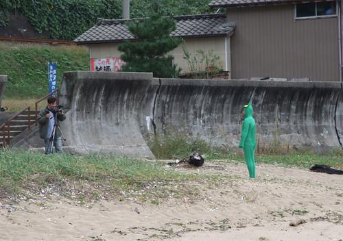 笹川流れに河童(かっぱ)現る!?の巻