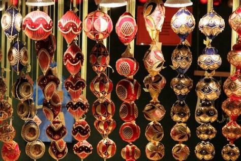 Christmas decorations, Christmas Market, Schloss Belvedere, Vienna