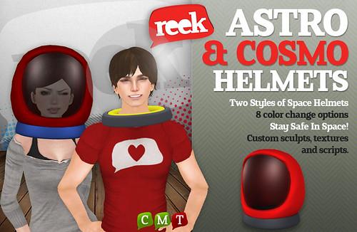 Reek - Astro & Cosmo Helmets