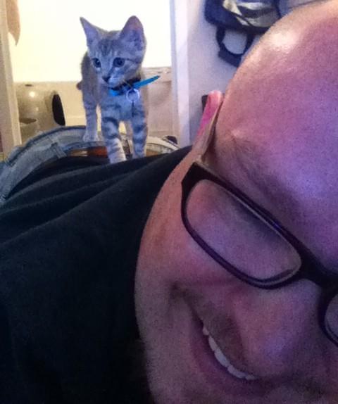 Meet Lumen, the Super Kitty!