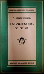Cristopher Isherwood, Il signor Norris se ne va, Mondadori 1948, (part.), 1