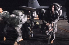 82nd Airborne Soldiers at Port-au-Prince airport
