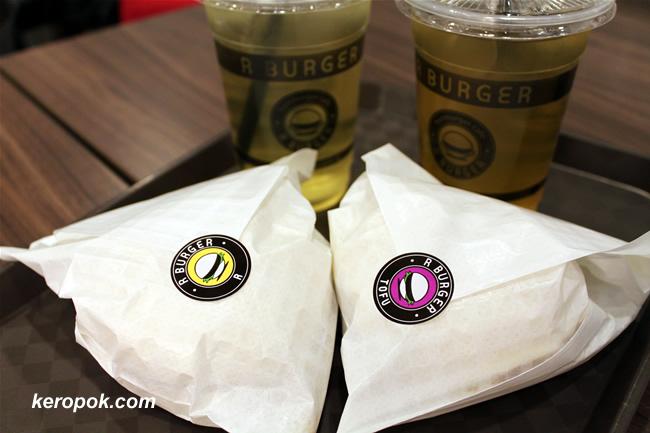 R Burger and Tofu Burger Mini Sets