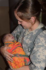 Army Reserve Nurse Delivers Baby in Rural Ugan...