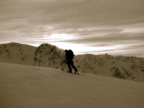 turnagain pass uphill