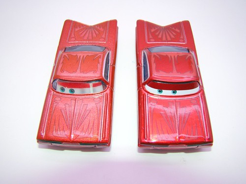 Disney CARS ransburg and regular hydraulic ramone comparison (3)