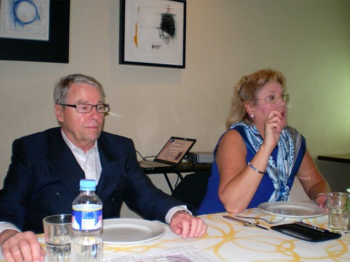 Dr. George Morrison and Laura Benson