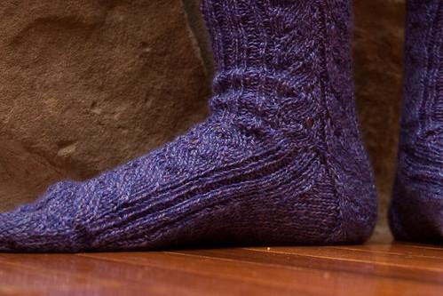 Mystery Sock - Detail