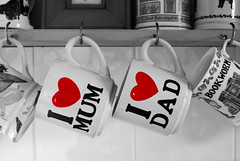 Mamma <3 Pappa = harmonisk son