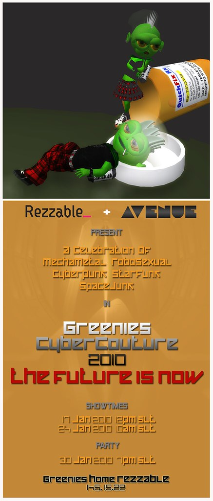 "Rezzable :: Cyber Couture ""2010 . The Future is Now"""