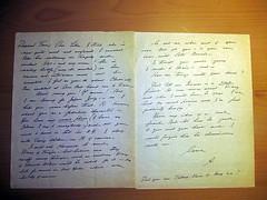 Anais Nin Letter