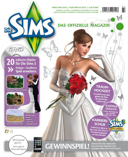 The Sims 3 official German magazine - April/May 2010 issue