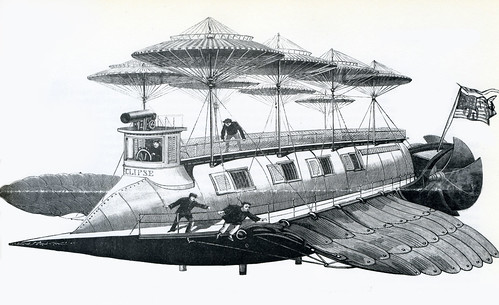 1892--Flying Ship 'Eclipse' by x-ray delta one