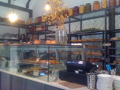 range of offerings at luxe bakery, newtown