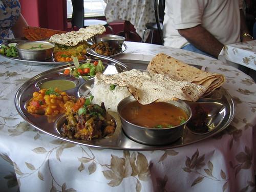 vegan thali