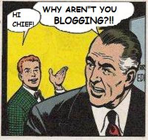 Why Aren't You Blogging?
