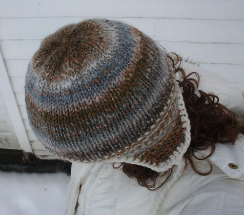 knitted: Handspun Thorpe (for me!)