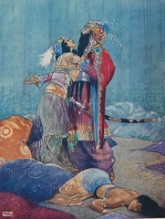 Scheherazade illustration by René Bull