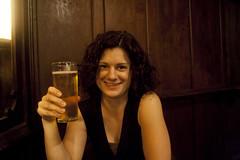 British Cider, in an Irish Pub, in Barcelona, Spain