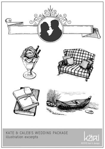 Kate & Caleb Illustration Snippets