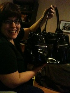 My purse and I, March 10, 2010
