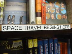 Space travel begins here.