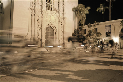 Balboa Park and the Museum of Man Blur