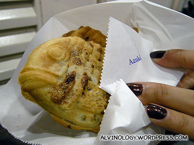 Scarred azuki pancake