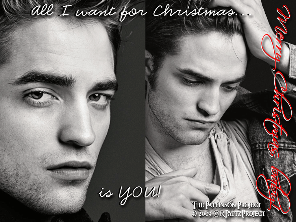The Pattinson Project Exclusive: New Wallpaper: Our Christmas gift ...